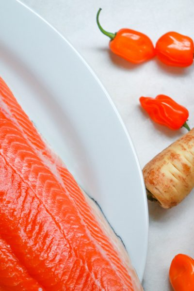 salmon parsnip habanero