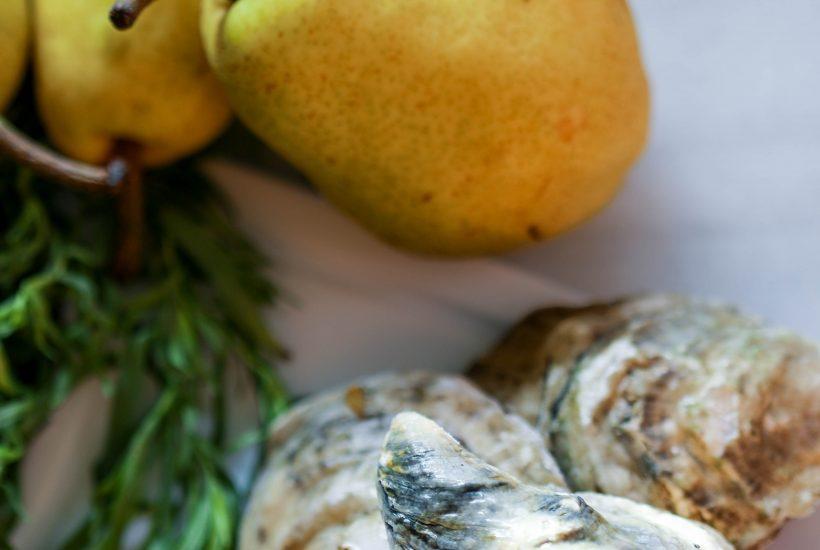 Weekly Ingredients: Oysters, Pears, & Tarragon