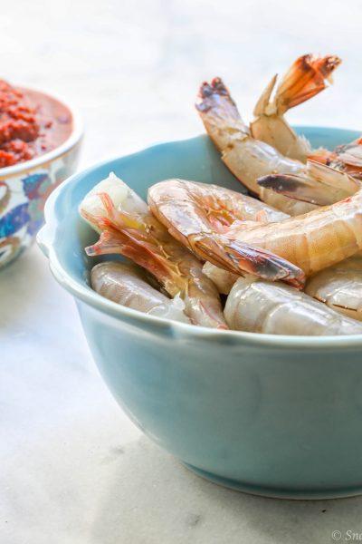 shrimp harissa