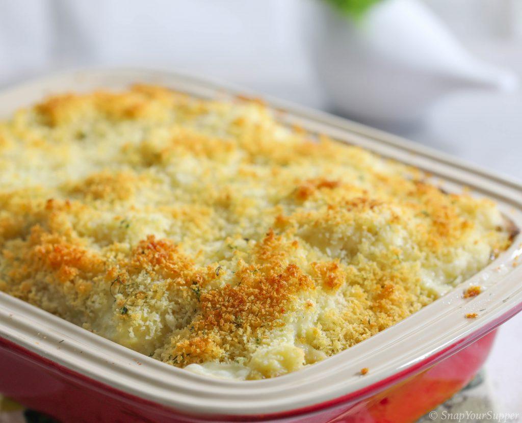 cauliflower parsnip gratin